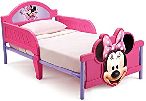 Disney Cars 3D Footboard Toddler Bed