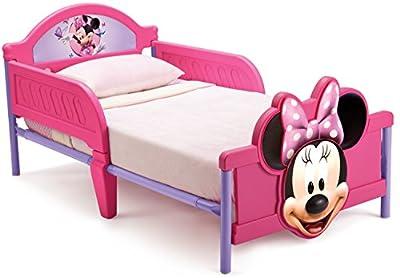 Disney Cars 3D Footboard Toddler Bed