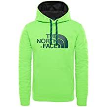 The North Face Felpa con Cappuccio Surgent, Uomo, Power Green, L