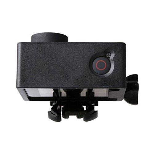 Sharplace Gehäuse Unterwasser Rahmen für Sj5000 WiFi Action Camera Cam, Unterwassergehäuse, Wasserfestes Gehäuse Schutztasche Schutzhülle Kamera Zubehör