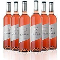San Jamón Calderona Vino Rosado Cigales - Paquete de 6 x 750 ml - Total: 4500 ml