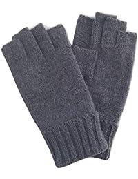 81d9afad345464 Fingerloser Angora Strickhandschuh, Woll Handschuh ohne Finger, Handschuh  für das Handy, Wolle/