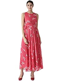 THE VANCA Women's A-Line Maxi Dress