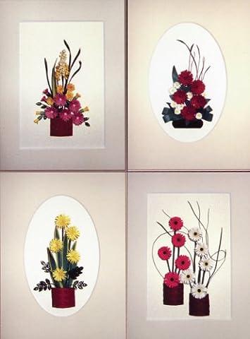 Quilling Kit-jolie fleurs frangées