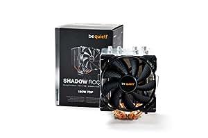 be quiet! BK013 Shadow Rock 2 CPU-Kühler LGA 775/1150/1155/1156/1366/2011/AMD 754/939/940/AM2+/AM3+/FM1/FM2 (4-polig)