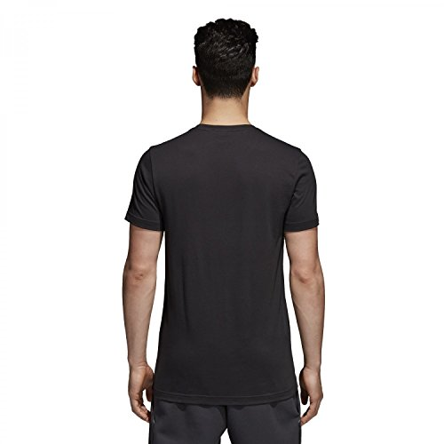 adidas Herren T-Shirt Bos Foil Schwarz