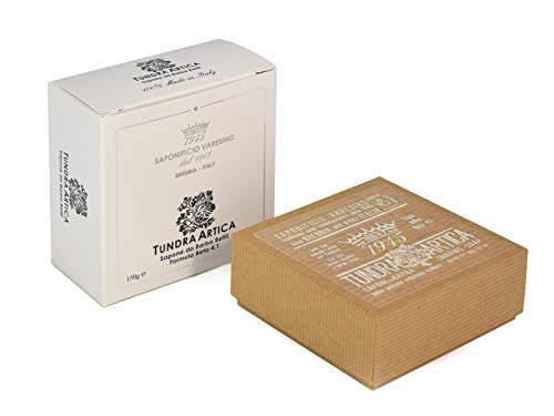 Saponificio Varesino Tundra Artica Deluxe Hart Rasierseife 150g Puck - Harte Rasierseife