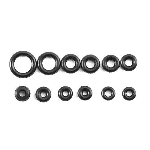 1.4-2.8mm 12 Größen Gummi Ringe Uhren Dichtungen Tiny Crown O Ring Box Set für wasserdichte Dichtung -