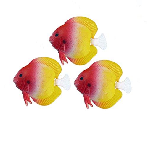 sourcingmap-acuario-animada-cola-mini-diseno-de-pez-3-unidades-amarillo-rojo