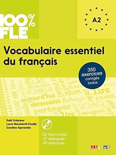 Vocabulaire Essentiel Du Francais Niv A2 Livre Cd 100