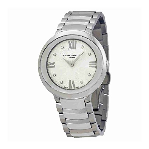Baume and Mercier Promesse Mother of Pearl Stainless Steel Ladies Watch
