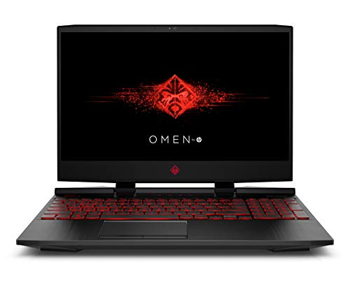 [Ancien modèle] HP OMEN 15-dc1001nf PC Portable Gaming 15,6'' FHD IPS Noir (Intel Core i5-8300H, 16 Go de RAM, Stockage 1 To + SSD 256 Go, NVIDIA GeForce RTX 2060 6 Go, AZERTY, Windows 10)