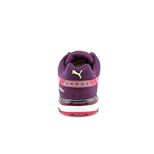 Puma Faas 500 V3 scarpa da corsa Cerise Fuchsia Purple Yellow