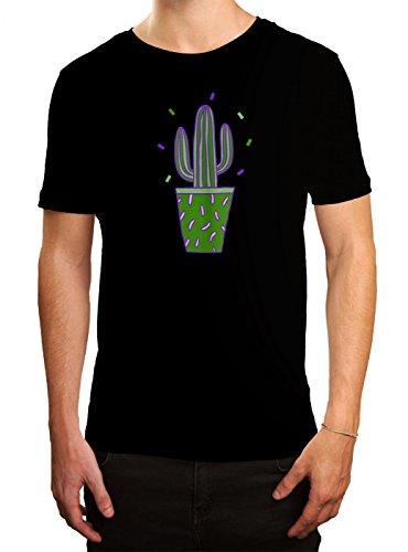 Kaktus #3 Premium T-Shirt | Can´t Touch This | Spaß | Coole Sprüche | Herren | Shirt, Farbe:Schwarz (Deep Black L190);Größe:XL