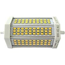 Lámpara Led Con Intensidad Regulable RX7S Lineal R7S 118 mm = 15W 150 W, 220 V, Color Blanco Neutro Triacs Regulador 77 Smd 2835