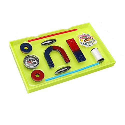Magnetischer Kompass in U-Form mit Hufeisen-Form, Magnetfeld, Physik, Experiment, Lernspielzeug - Mint Cleaner