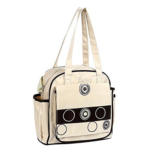 Wickeltasche Multifunktionale Baby Pflegetasche Windel Tasche Mama Handtasche Marine Kaki