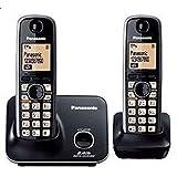 Panasonic KXTG3712 Cordless Phone (Black) Ni-MH rechargeable battery