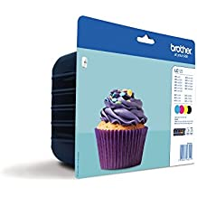 Brother LC123 Value Multipack - Black/Cyan/Magenta/Yellow - Black/Cyan/Magenta/Yellow (Pack Of 4)