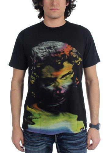 rook-herren-t-shirt-technicolor-xx-large-vintage-black