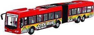 Dickie Toys 203748001–City Express Bus, Bus articulé, 46cm