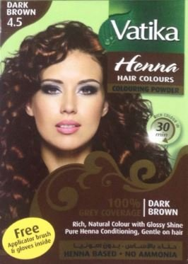 Dabur 8904147401534 Vatika Henna Hair Colours Henna Based 60 Gram