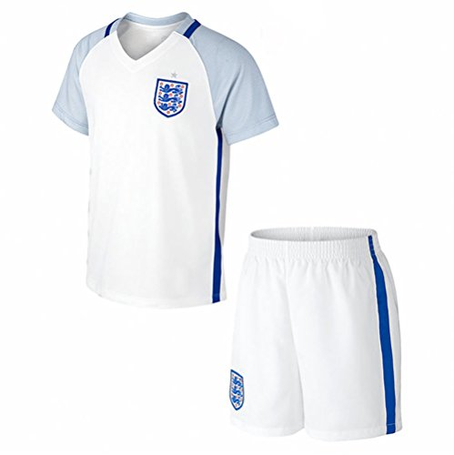 20162017England Home Fußball Jersey für Kinder Kid Jugend in weiß Größe L weiß (Jersey Home Jugend Weiß)