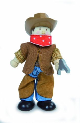 Le Toy Van - 21949 - Figurine - Le Cow Boy