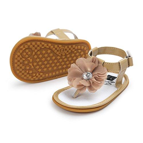 Etrack-Online  Baby Sandals, Baby Mädchen Lauflernschuhe Khaki