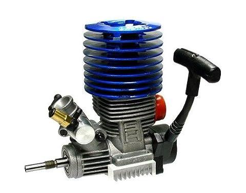 SH ENGINES Modell Blau 21 Nitro Motor 3.48cc RC Car Buggy Truck Truggy EG635 mit RCECHO Vollversion Apps Ausgabe