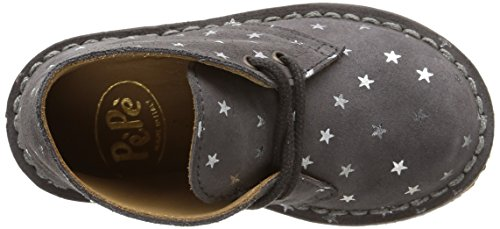Pèpè 1016 Nf, Chaussures de ville fille Gris (Scam Stars Antracite Para Tm)