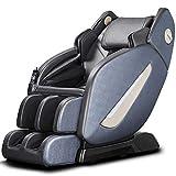 145cm SL Manipulateur Chaise de Massage électrique Accueil Full Body Multifonctions Zero Gravity Chaises de Massage Canapé,Bleu