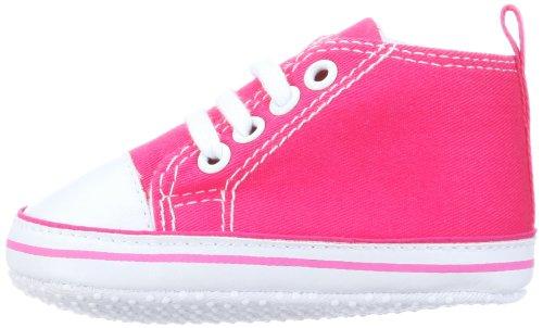 Playshoes Baby Turnschuhe, Sneaker 121535, Unisex-Kinder Sneaker, Blau (marine 11), EU 16 Pink (pink 18)