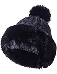 Amazon.es  gorros rusos mujer - Sombreros y gorras   Accesorios  Ropa bc8b9a7d2d1