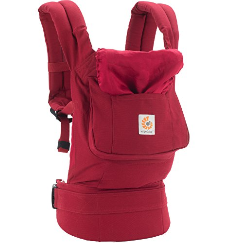 Ergobaby Babytrage Kollektion Original (5,5 – 20 kg), Red - 8