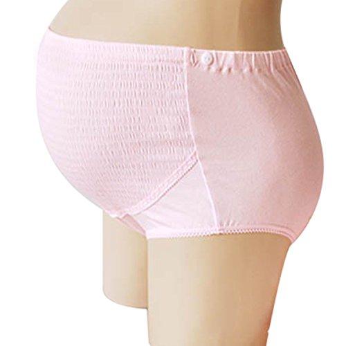 iLoveSIA culotte de grossesse femme (Expédition seulement d'Amazon France) Rose