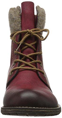 Rieker Mädchen K3467 Combat Boots Rot (Wine/wood / 35)