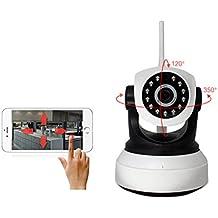 Cámara Electrónica - Cámara Trasera - HD Caméra PC - Cámara Larga Duración / Cámara Jane En Bebe / Cámara Reflex Digital X72-LF Empuje De La Alarma, Aparato De Lectura Alejado, Intercomunicador De Dos Vías De La Voz, 2-Way Audio P2P IP Webcam