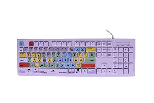 dogxiong für Adobe Premiere Pro CC Tipps Bearbeiten Schneller Shortcuts Hot Schlüssel USB-Tastatur (Arbeit für Mac OSX, PC Fenster Desktop Notebook iMac MacBook Pro, Cover) (Adobe Premiere Für Mac)