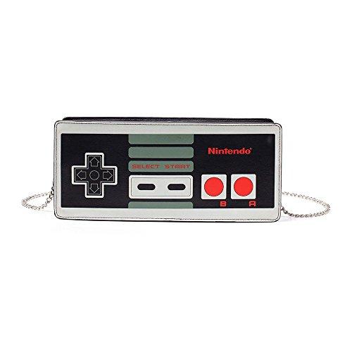 Nintendo Monedero, Negro Negro - BIO-LB902006NTN
