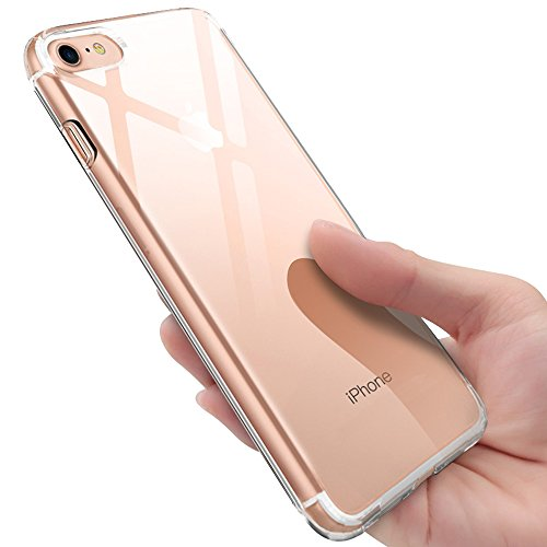 iPhone 8 Hülle , iPhone 7 Silikon Hülle , innislink Transparent TPU Bumper Case Schutzhülle iPhone 8 / iPhone 7 Ultra Dünn Kratzfest Stoßfesten Schlank Soft Case Cover Handyhülle für iPhone8 / iPhone7