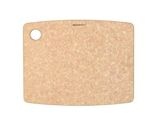 Epicurean Kitchen Series Cutting Board Wood Fibre Natural 30 cm x 22.5 cm/12 inch x 9 inch