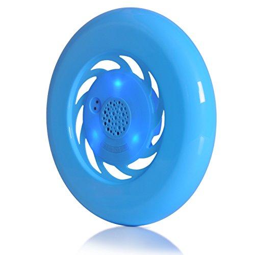 Sport Wasserdichte Flying Disc Wireless Bluetooth Musik Frisbee Lautsprecher, Indoor Outdoor Tragbare Lautsprecher, Sport & Fitness, Strand, Schwimmbad, Kinder Spielzeug