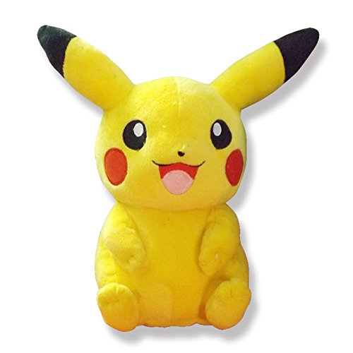 Softies® Finest Pikachu Pokemon soft toys for girls, Kids, Infants, Babies. (Large)
