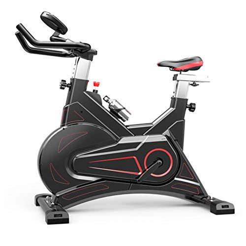 Heimtrainer Fahrrad für Zuhause,Intelligente APP Steuerung Indoor Cycle Elektromagnetisch Spinning Fahrrad Sehr Leise,Ergometer Fahrrad Verstellbarer Widerstand Maximale Tragfähigkeit 150 (kg)
