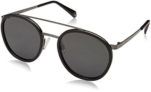 Polaroid pld 6032/s m9 807 53 occhiali da sole, nero (black grey), unisex-adulto