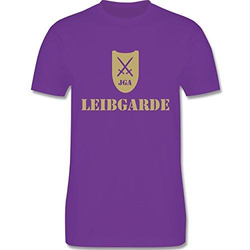 JGA Junggesellenabschied - Leibgarde - Herren Premium T-Shirt Lila