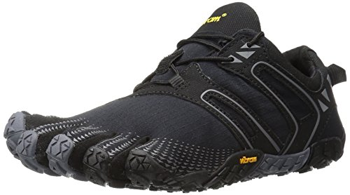 Vibram Five Fingers V-TRAIL, Scarpe da Corsa Donna, Nero (Black/Grey), 38 EU