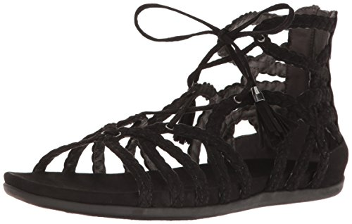 Kenneth Cole REACTION Women's Slim Loop Gladiator Sandal, Black, 9.5 M - Schwarz Reaction-schuhe Cole Kenneth