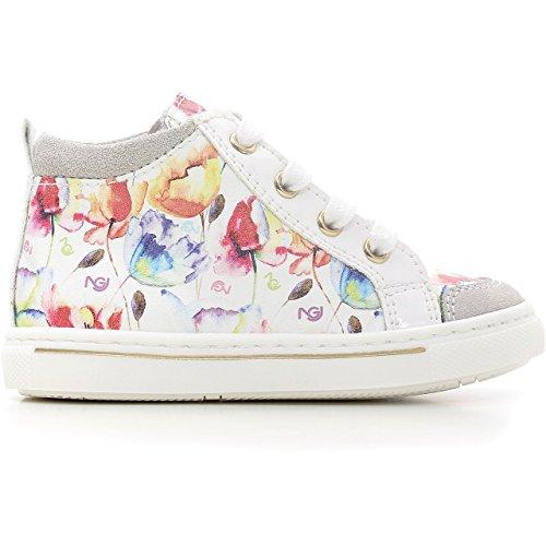 Nero Giardini Junior , Chaussures premiers pas pour bébé (fille) Blanc Cassé blanc 20 - Blanc Cassé - Fantasia (Velour Vapore), 20 EU